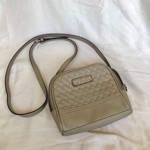 Kenneth Cole Crossbody Bag Gray/Taupe NWOT